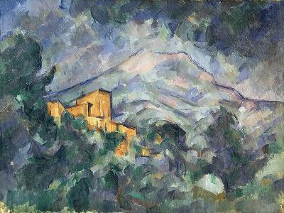 Montagne Sainte-Victoire and the Black Chateau, 1904-06