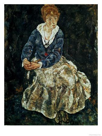 The Artist's Wife Seated, circa 1912