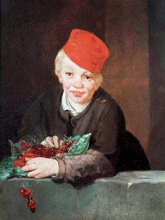 The Boy with the Cherries, 1859