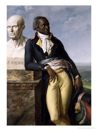 Portrait of Jean-Baptiste Belley (D.1804) Deputy of San Domingo, 1797