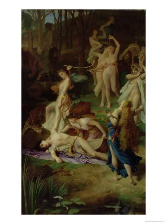 The Death of Orpheus, 1866