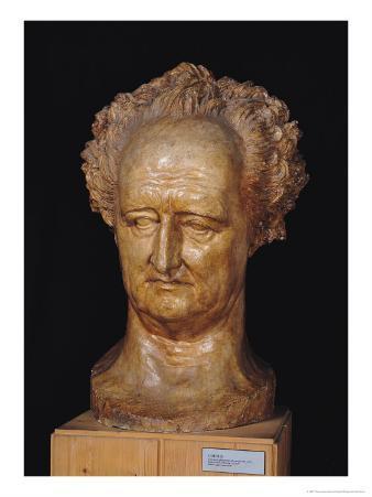 Bust of Johann Wolfgang Von Goethe (1749-1832), 1831