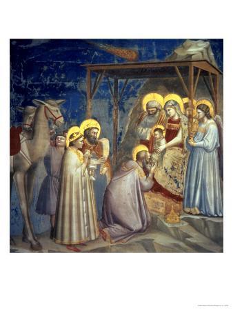 Adoration of the Magi, circa 1305