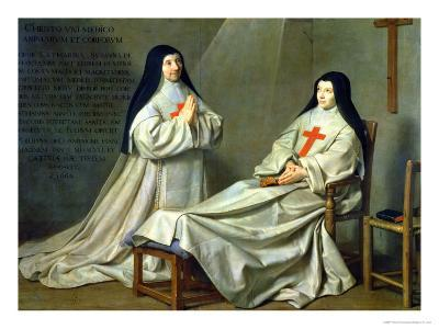 Mother Catherine-Agnes Arnauld (1593-1671) and Sister Catherine of St. Suzanne Champaigne (1636-86)
