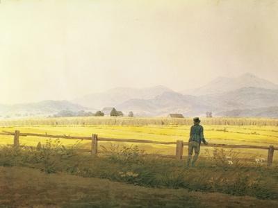 View of Schmiedebergerkamm, circa 1837