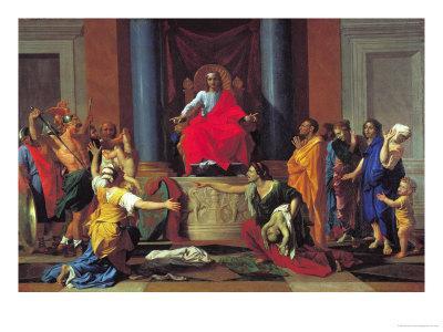 The Judgement of Solomon, 1649