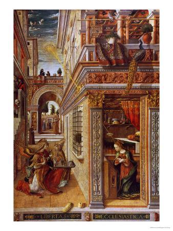 The Annunciation with St. Emidius, 1486