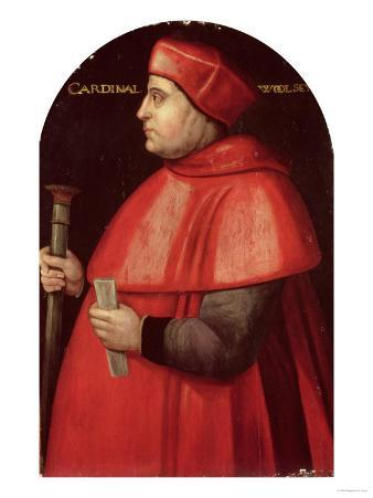 Portrait of Cardinal Thomas Wolsey (circa 1475-1530)