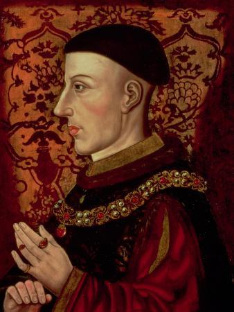 Portrait of Henry V (1387-1422)