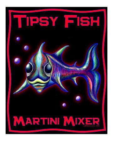 Tipsy Fish - Martini Mixer