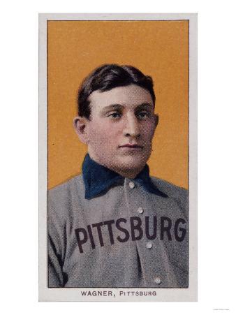 Honus Wagner Baseball Card