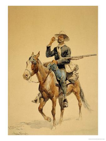 A Mounted Infantryman, 1890