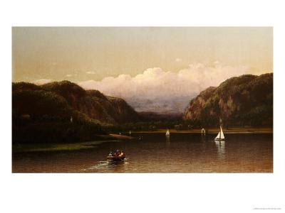 Highlands of the Hudson, View Near West Point, 1872