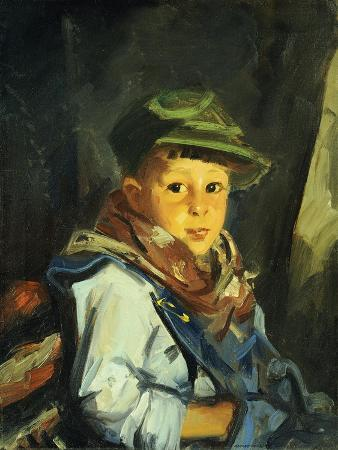Boy with Green Cap (Chico), 1922