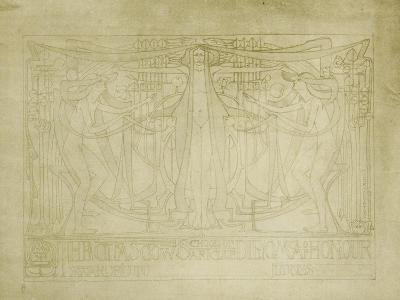 Diploma of Honour Designed for the Glasgow School of Art Club, 1894-5