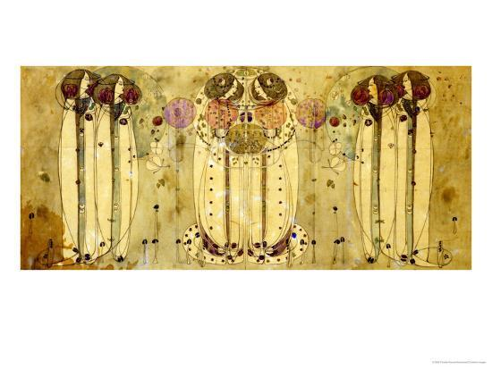 The Wassail, 1900 Giclee Print by Charles Rennie Mackintosh at AllPosters.com