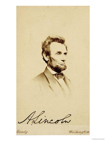 Photographic Portrait of Abraham Lincoln, 1864