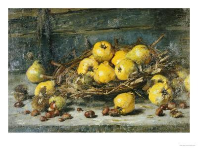 A Basket of Pears with Chestnuts, 1894