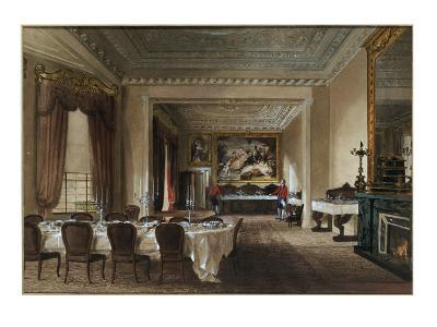 The Dining Room, Osborne House, 1851