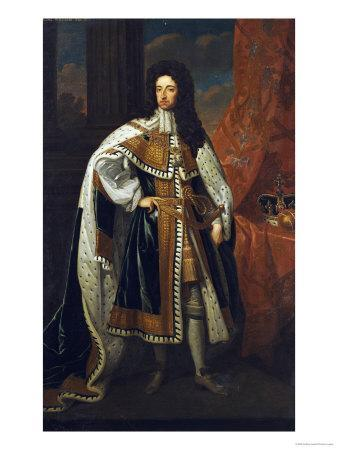 Portrait of King William III (1650-1702), in State Robes