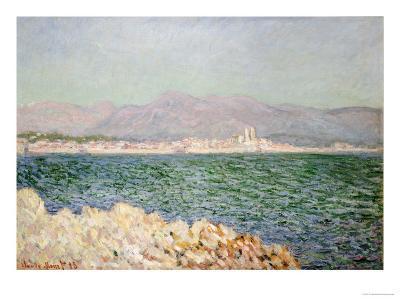 Golfe d'Antibes, 1888