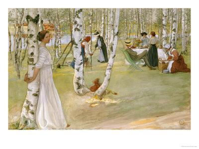 Breakfast in the Open (Frukost I Det Grona), 1910