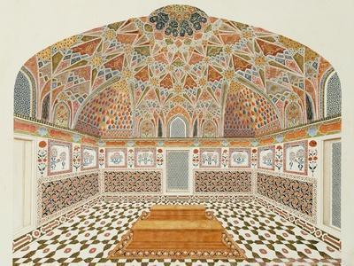 Interior of the Tomb of et ahmadowlah, Agra School, circa 1815