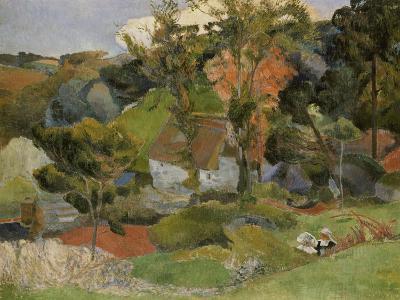 Landscape at Pont Aven, 1888