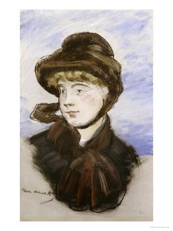 Young Girl in a Brown Hat, 1882