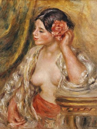 Gabrielle a Sa Coiffure, 1910
