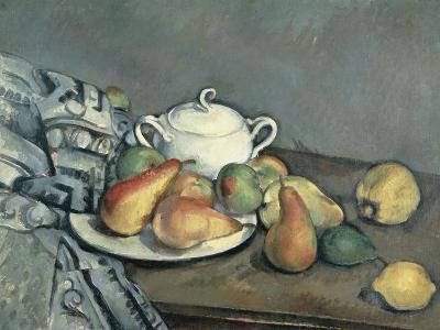 Sugar Bowl, Pears and Carpet