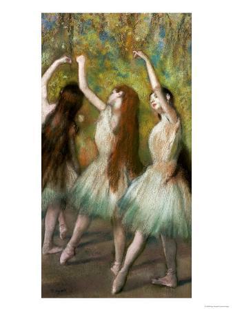 Green Dancers, 1878
