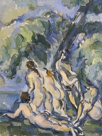Bathing Study for Les Grandes Baigneuses, circa 1902-1906