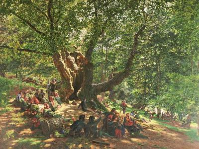 Robin Hood and His Merry Men in Sherwood Forest, 1859