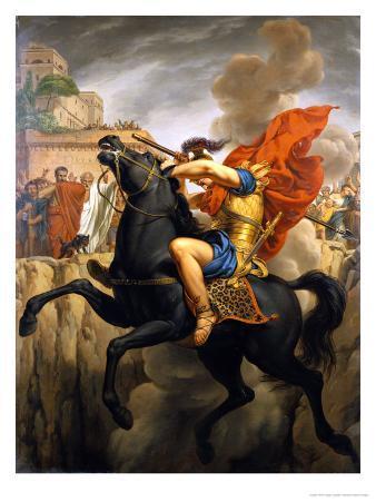 The Death of Marcus Curtius