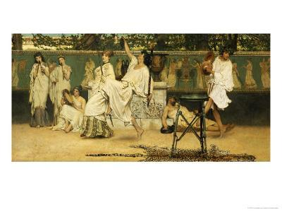 Bacchanal, Dated 1871