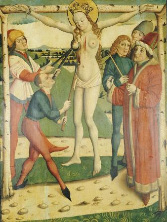 The Martyrdom of Saint Catherine, Swiss School, 1473