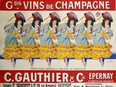Gds Vins de Champagne, circa 1910