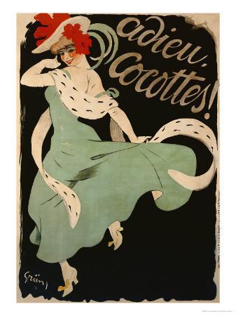 Adieu, Cocottes, 1903