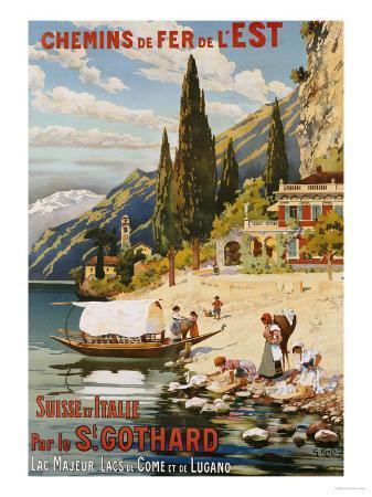 Suisse et Italie Par le St. Gothard, 1907