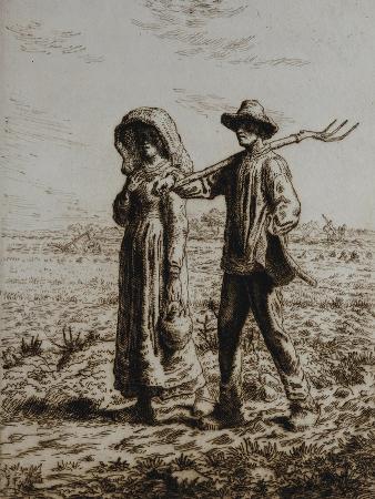 Leaving for Work, 1863