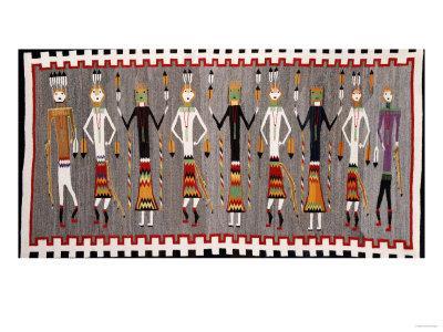 A Navajo Yei Rug