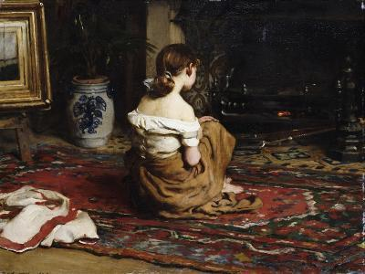 By the Fireside, 1878