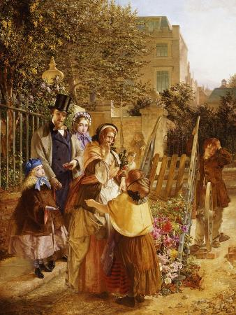 The Upset Flower Cart