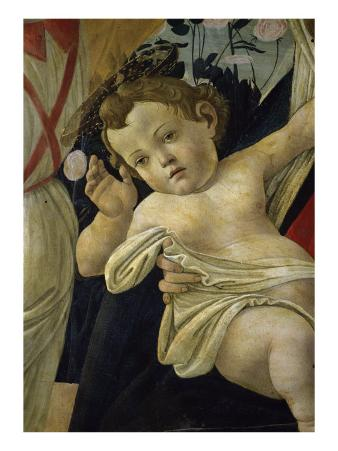 The Virgin and the Infant Surrounded by Angels