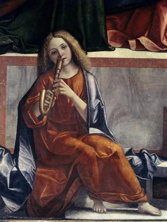 Child with Wind Instrument