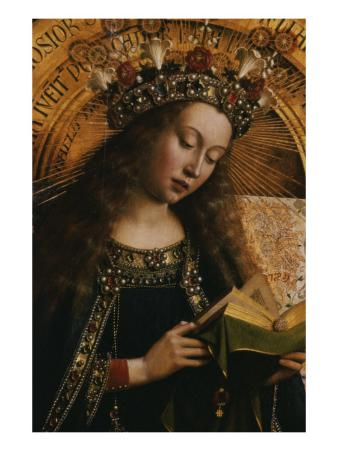 The Virgin- Ghent Altarpiece
