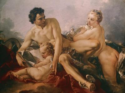 Venus, Mercury and Amor