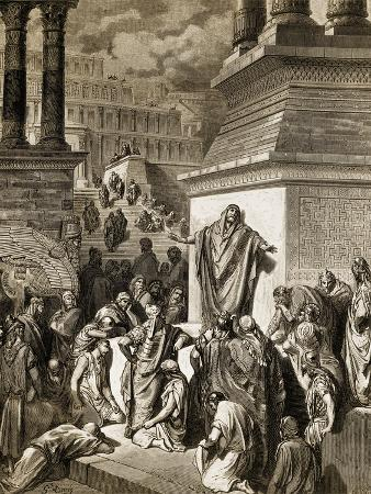 Jonah Telling of Nineveh's Coming Vanquishment
