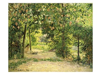 The Garden in Springtime at Eragny